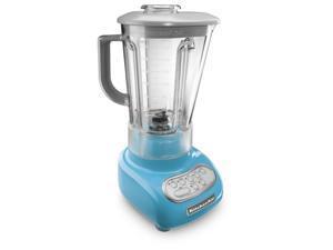 KITCHENAID KSB560CL 5-Speed Blender with Polycarbonate Jar (Crystal Blue) - Refurbished