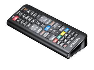 SAMSUNG 2 in 1 Qwerty Remote Control for Samsung SMARTTv  RMC-QTD1 (Black)