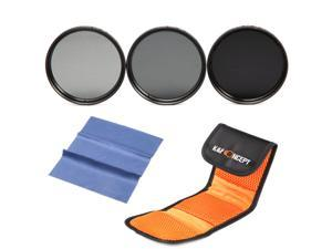 K&F Concept 62mm ND2 ND4 ND8 Neutral Density ND Filter Kit For Sigma 18-200mm f/3.5-6.3 II DC