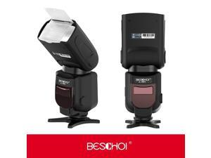 Canon Flash,Beschoi Professional Wireless DSLR Speedlight Flash Speedlite Flash Light GN 56 Flashgun with TTL Mode, S1/S2 Mode,Slave Flash for Canon SLR Digital SLR Cameras EOS 100D 1300D 1200D 550D