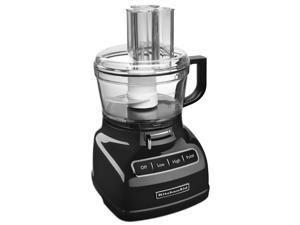 KitchenAid KFP0933OB 9-Cup Food Processor with Exact Slice System,Onyx Black