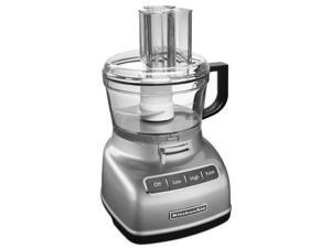 KitchenAid KFP0933CU 9-cup Food Processor with ExactSlice System, Contour Silver