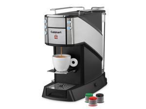 Cuisinart EM-400 Black Single Serve Espresso and Coffee Machine