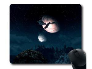 "for The Elder Scrolls V: Skyrim Dragonborn Custom Mouse Pad Rectangle 15.6"" x 7.9"""