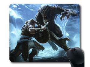 "for Customizablestyle Skyrim Daedric Armor Mousepad, Customized Rectangle DIY Mouse Pad 8"" x 9"""