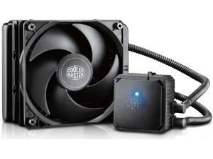 Cooler Master Seidon 120V – Compact All-In-One CPU Liquid Water Cooling System with 120mm PWM Fan & 120mm Radiator - Intel Universal Socket LGA2011, AMD Socket FM2+/FM2/FM1/AM3+/AM3/AM2+/AM2