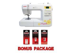 Janome Magnolia 7330 Computerized Sewing Machine w/ Bonus Package!