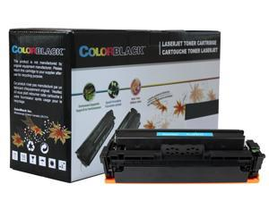 ColorBlack Premium Compatible HP CF411X 410X Cyan Toner Cartridge with Chip, 5000 Page Yield ISO19798 Certified For HP Pro M452 Series M452dn&#59; MFP M477 Series M477fdw M477fdn M477fnw&#59; MFP M377