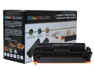 ColorBlack Premium Compatible HP CF410X 410X Black Toner Cartridge with Chip, 6500 Page Yield ISO19798 Certified For HP Pro M452 Series M452dn&#59; MFP M477 Series M477fdw M477fdn M477fnw&#59; MFP M377