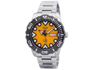 SEIKO MEN'S 5 SPORTS 45MM STEEL BRACELET & CASE AUTOMATIC WATCH SRPA05K1