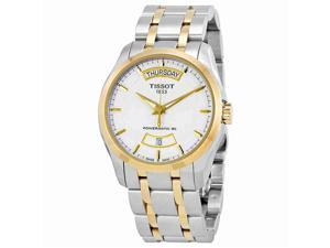 Tissot Couturier Powermatic 80 T0354072201101 White / Silver Stainless Steel Analog Quartz Men's Watch