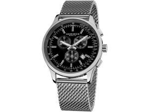 Akribos XXIV Men's 42.5mm Chronograph Synthetic Sapphire Quartz Watch AK625SSB