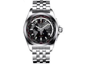 Breitling Men's Galactic Unitime 44mm Automatic Analog Watch WB3510U4/BD94SS