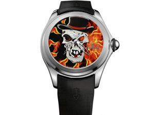 CORUM MEN'S BUBBLE SKULL L.E 38 PCS 47MM AUTOMATIC WATCH 082.310.20/0371 VOOD