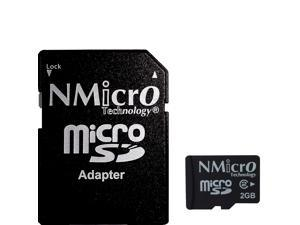 NMicro 2GB 2G GB micro SD microSD Class 2 compatibles with 99% microSD SDHC SDXC devices , 100% Made in Taiwan Flash TF memory card without adapter  also have 4GB 16GB 32G 32GB 64GB 64G 128GB 128G U1
