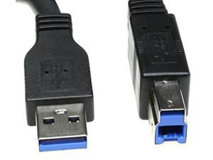 USBGear USB 3.0 Cable A Male to B Male Device Cable