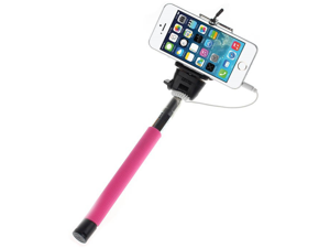 Z07-5 Plus Extendable Selfie Stick Extendable Monopod Tripod With Button Handheld Wired Cable Take Pole for iPhone IOS Android