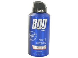 Bod Man Really Ripped Abs by Parfums De Coeur Fragrance Body Spray 4 oz