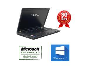 "Lenovo Thinkpad T510 Laptop i5 520M 2.4GHz 4G DDR3 RAM 320G HDD DVDRW Windows 10 HOME 64 bits 15"" Widescreen 90 days warrant, AC adapter and battery, built in wifi."