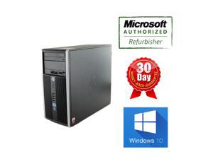 HP 6300 Mini-Tower Computer Intel PD 2.8GHz, 4G, 250G, DVDRW, Windows 10 Home and Operating System Loaded, 90 days warranty, powercprd