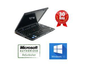 Lenovo x201 12 inch Laptop i5 2.4Ghz, 4G DDR3, 320G HDD, No Optical DRive, Windows 10 Home 64 Bits, AC adapter and Battery, Built in Webcam & Wifi, 90 days warranty