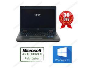 HP 6470b 14 inch Laptop i5 3rd gen 3320m 2.6Ghz, 4G DDR3, 320G HDD, DVDRW, Windows 10 Professional64 Bits, AC adapter and Battery, Built in Wifi and webcam. 90 days warranty