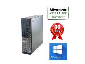 Dell DT 7010 desktop i5-3570 3.4Ghz, 8G DDR3, 500GB, DVDRW, Windows 10 Professional with OS Loaded, 90 days Warranty from seller, Power Cord, Grade A