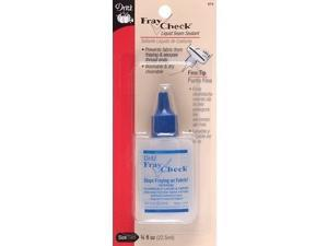 Dritz Fray Check Liquid Seam Sealant Glue 3/4 oz.