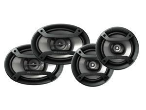 "Pioneer TS-695P 6x9"" 3 Way and TS-165P 6.5"" 2 Way Car Speakers Pkg"