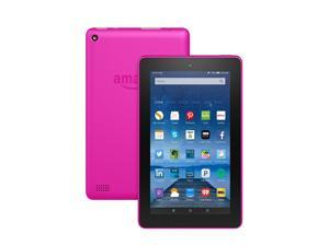 Fire Tablet, 7 inch Display, Wi-Fi, 8 GB - Includes Special Offers, Magenta