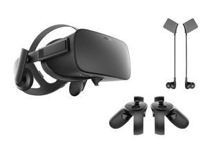 Oculus Rift 3 Items Bundle:Oculus Rift Virtual Reality Headset,Oculus Touch and Oculus Rift Earphones