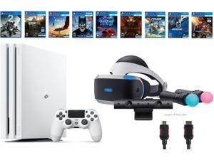 PlayStation VR Deluxe Bundle 12 Items:VR Start Bundle,PS4 Pro 1TB Console - Destiny 2 Bundle,8 VR Game Disc Rush of Blood,Valkyrie,Battlezone,Batman,DriveClub,Eagle, RIGS,Resident Evil 7:Biohazard