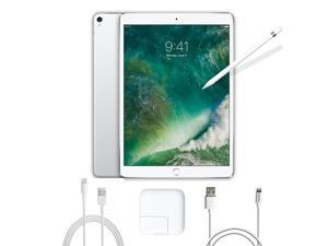 2017 New iPad Pro Bundle (3 Items): Apple 10.5 inch iPad Pro with Wi-Fi 64 GB Silver, Apple Pencil and Mytrix USB Apple Lightning Cable