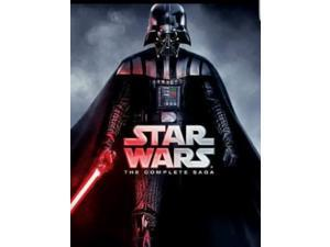 Star Wars The Complete Saga DVD Set (Episodes 1-6)