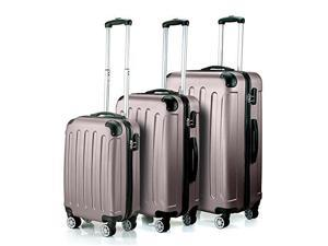 "Timmari Hard Lightweight ABS Luggage Set – 29"" + 26"" + 21"" Premium Quality St..."