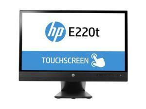 "HP E220t 21.5"" Backlight LED Monitor, 1920 x 1080, 3000:1, 250cd/m2, VGA Display Port, Tilt and Swivel"