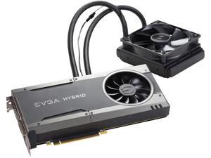 EVGA GeForce GTX 1080 FTW HYBRID GAMING 8GB GDDR5X RGB LED, All-In-One Watercooling with 10CM FAN, 10 Power Phases, Double BIOS, DX12 OSD Support (PXOC) 08G-P4-6288-KR