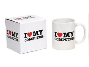 I Heart My Computer Coffee Mug