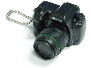 Pentax Capsule Mini Camera Keychain K-5 Black Camera