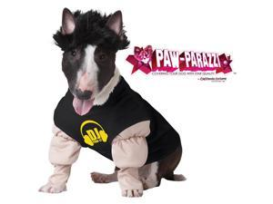 Paw Parazzi DJ Pawly Dog Pet Costume Small