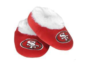 San Francisco 49Ers NFL Baby Bootie Slipper Large