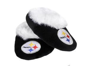Pittsburgh Steelers NFL Baby Bootie Slipper Large