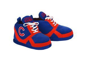 Chicago Cubs MLB Adult Sneaker Slipper Large