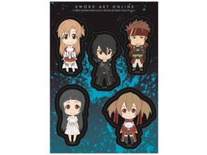Sticker - Sword Art Online - SD Character Grin Pack New ge55503
