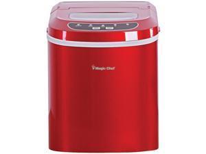 MAGIC CHEF MCIM22R 27lb Ice Maker - Red