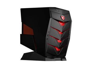 MSI Aegis-217US High Performance Gaming and Business Small Form Factor Tower Desktop (Intel i7 Quad Core Processor, 1TB HDD + 240GB SSD, 16GB RAM, NVIDIA GeForce GTX 1060, Win 10)