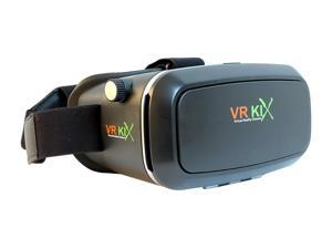 VRKiX VR 3D Headset for Smartphones, Charcoal, VRKiX1.C