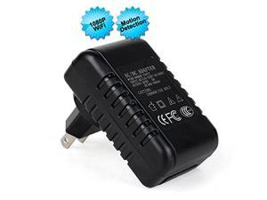 NEW 2015 WiFi Hidden Camera Wall Charger HD Audio Video Covert Spy Recorder USB Socket Plug Adapter DVR iPhone Android PC Mac Monitoring Motion Detection Clock Wireless Security Baby Monitor Nanny Cam