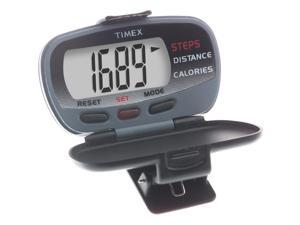 Digital Pedometer with Case and Belt Clip | Timex