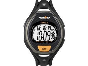 Timex Ironman Men's | Black Case Sleek 50-Lap Timer | Digital Sport Watch T5K332